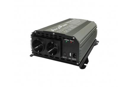 INV 24 / 220V 600W  PUR SINUS Black