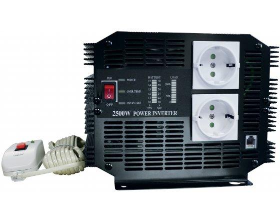 Convertisseur 12 V / 220 V - 2500 W