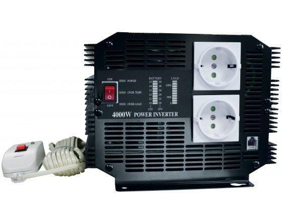 Convertisseur 24 V / 220 V - 4000 W